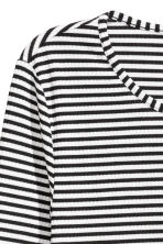 Jersey dress - Black/White/Striped - Ladies | H&M CN 3